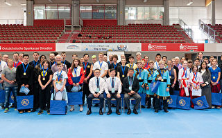 组图:新唐人全世界华人武术大赛欧洲初赛