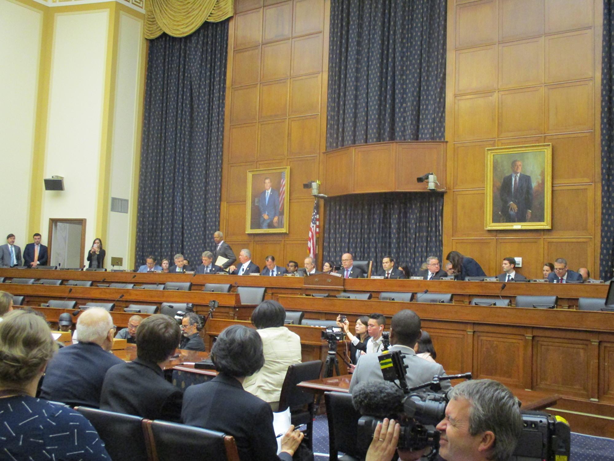 2019年6月4日,美國國會及行政當局中國委員會(CECC)聯合蘭托斯人權委員會在國會舉行天安門事件30周年的聽證會。(李辰/大紀元)