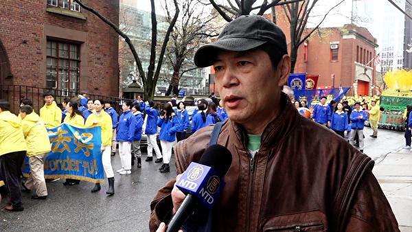 中國維權律師李明為弱勢人群維權、依法辦案卻遭上海當局打壓,他後來輾轉到了美國。(大紀元)