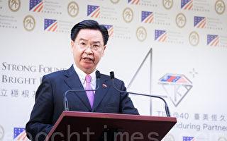 台外长欧议会录影发声:台湾捍卫民主抗中共