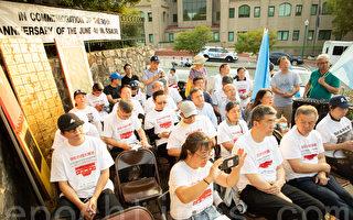 张林:纽约民主力量筹备示威游行