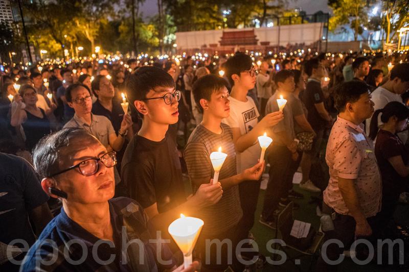 香港維園燭光30年 港人為何心繫六四?
