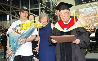 歌手熊仔爺爺高齡95 榮登台灣最高齡博士