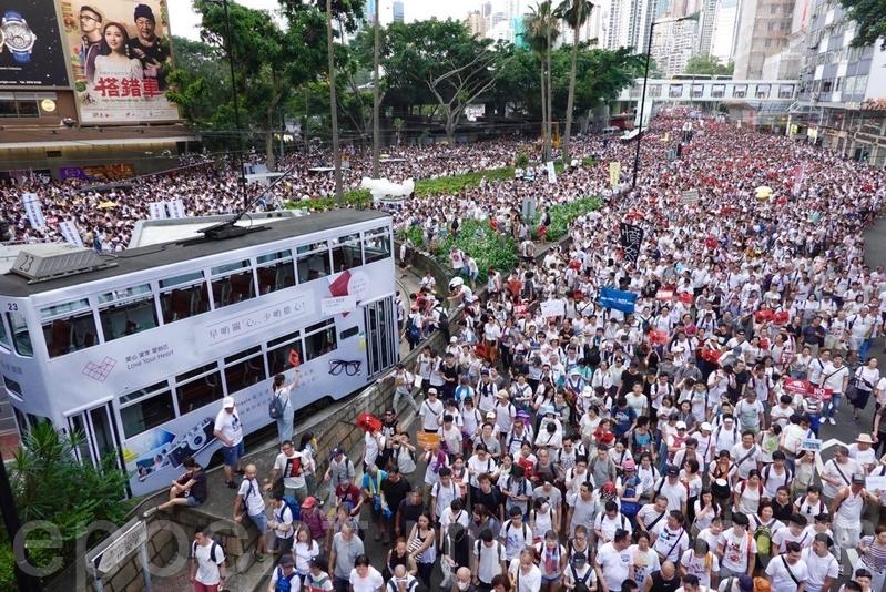 反引渡惡法遊行後 「香港加油」成微博禁詞