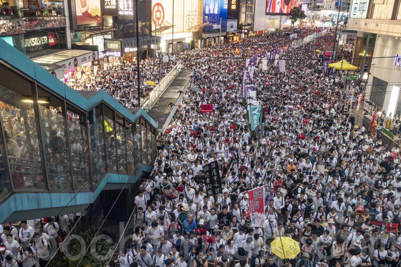 唐浩:香港百萬人大遊行 起何關鍵作用?