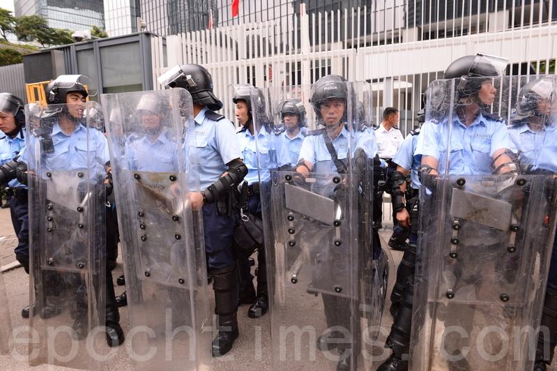 中共滲透香港 央企拿下港警指揮通訊項目