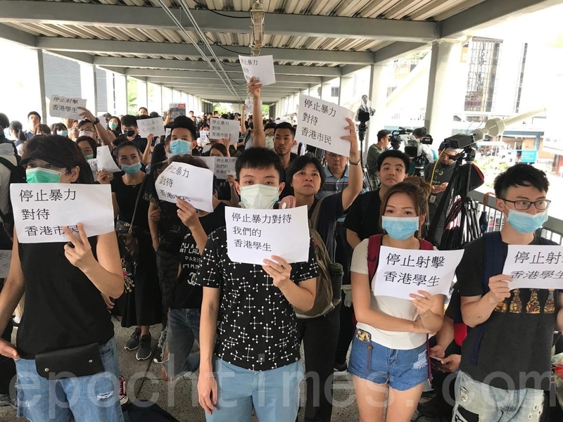 中共若鎮壓港民抗議 美或改變香港特殊待遇