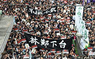 张林:两百万香港人走上街头抗议共产暴政