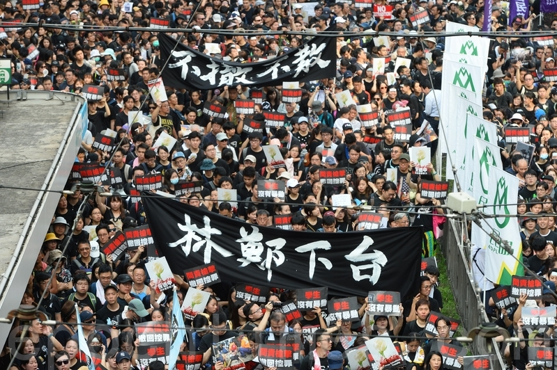 組圖4:反送中 要求香港特首下台聲浪湧