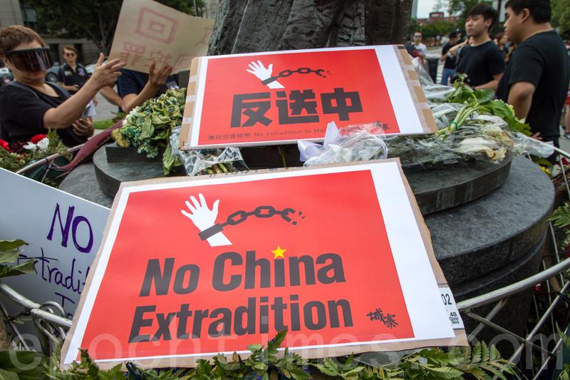 香港大規模抗議之際 另一網絡戰在大陸展開