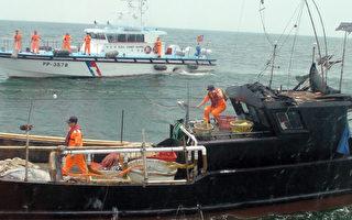 中國漁船越界蛇行逃竄拒檢 馬祖海巡緝獲