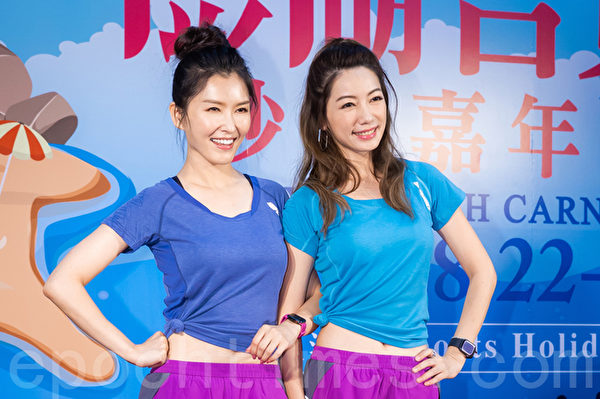 徐潔兒(左)、林韋君(右)