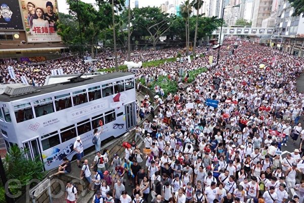 程曉容:香港怒吼 國際聲援 中共恐慌耍賴