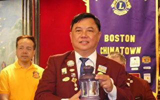 謝如鍵再任華埠獅子會長
