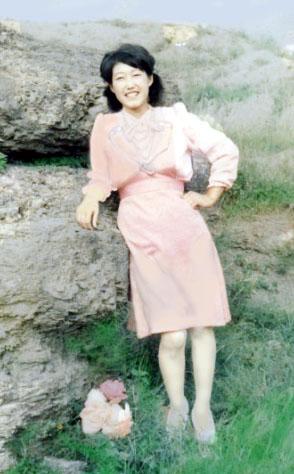 何淑榮生前的照片。(明慧網)