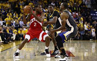 NBA总决赛 猛龙过江客场连克勇士夺赛点