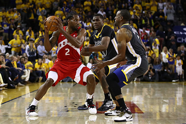 NBA總決賽 猛龍過江客場連克勇士奪賽點