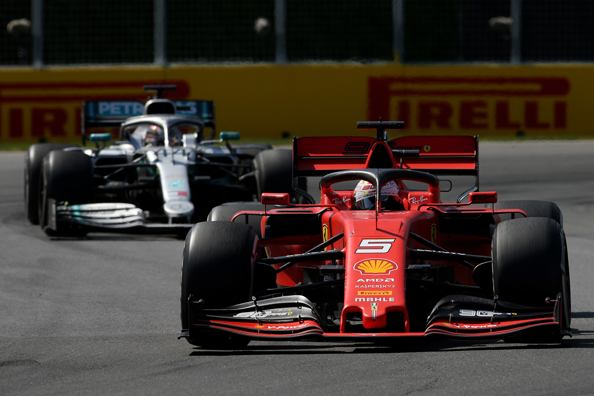 F1加拿大站 维特尔遭罚 汉密尔顿顺势登顶