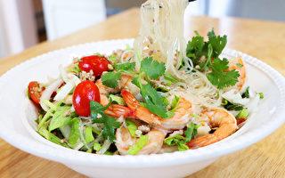 【美食天堂】泰式蝦粉絲沙拉 |夏日必吃家常菜|