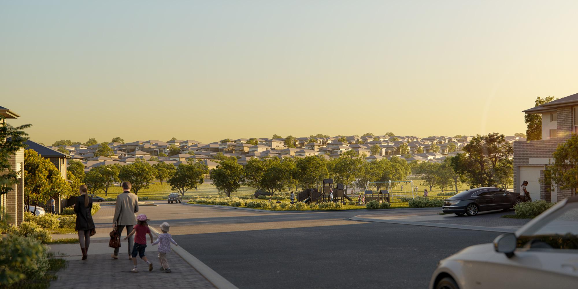 在悉尼卡梅尔山营造新家园