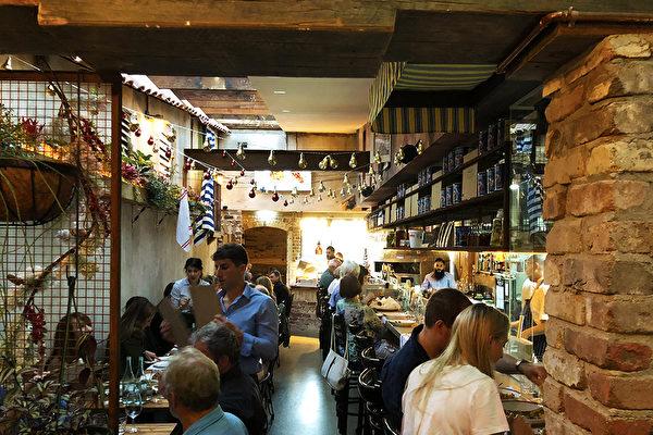 悉尼Mangiasti餐廳