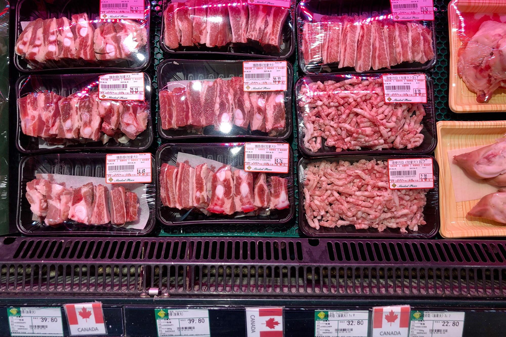豬瘟未停肉價暴漲 北京大媽驚嘆貴得離譜