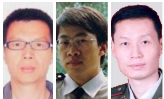 (從左至右)李洪山、胡志明、李志剛。(大紀元合成圖)