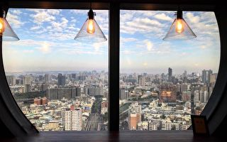 台中最高咖啡馆 几百台币乐享美食景观