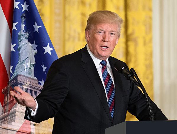 蘇利文提醒讀者,無論對特朗普的看法如何,如果重視民主和人權,那麼就支持特朗普政府贏得中美貿易戰。 (大紀元合成圖)