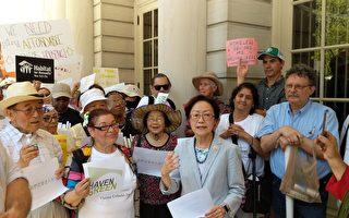 華埠伊麗莎白街老人公寓樓 市議會通過