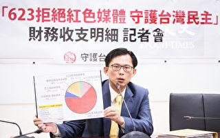 黃國昌公布反紅媒活動經費明細 結餘99萬全數捐出