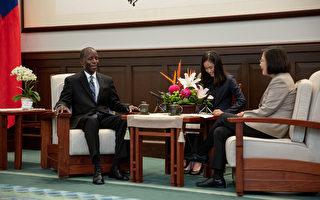 見美退役上將 蔡英文:台灣會為區域和平盡責