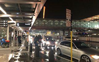 旧金山国际机场网约车行新规    司机晕了