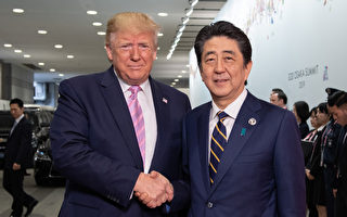 川普和安倍晉三通話 討論朝鮮最新事態發展