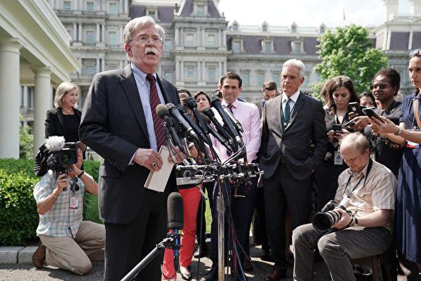 博爾頓:中共若鎮壓香港 將引美國會爆炸性反應