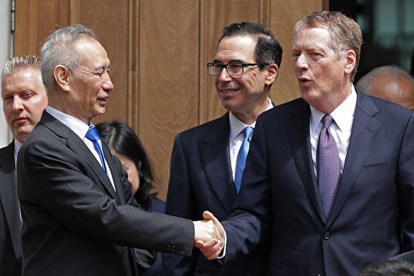 萊特希澤、姆欽與劉鶴通話 討論貿易協議