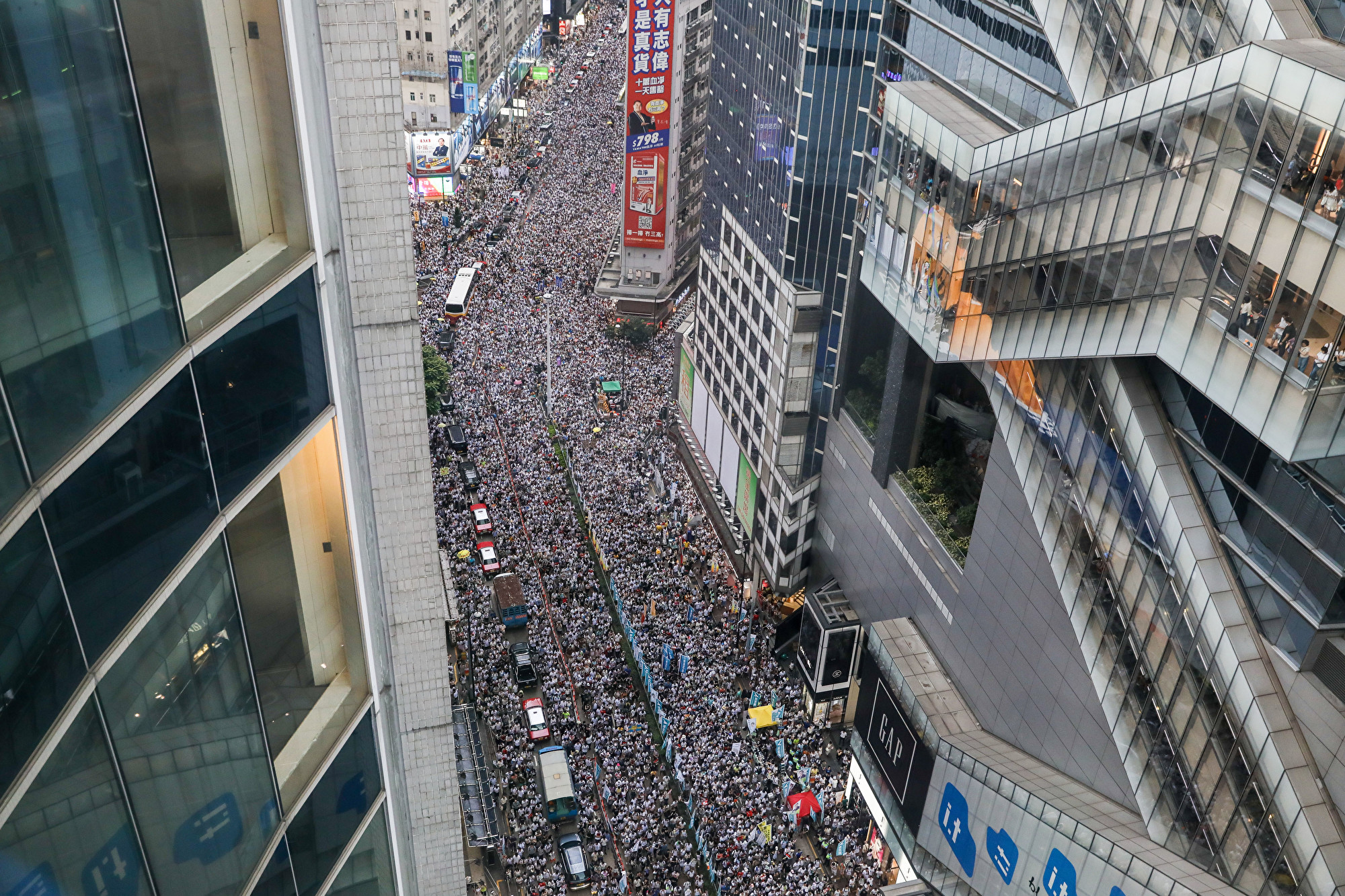 盤點香港過去一周的反送中抗議活動