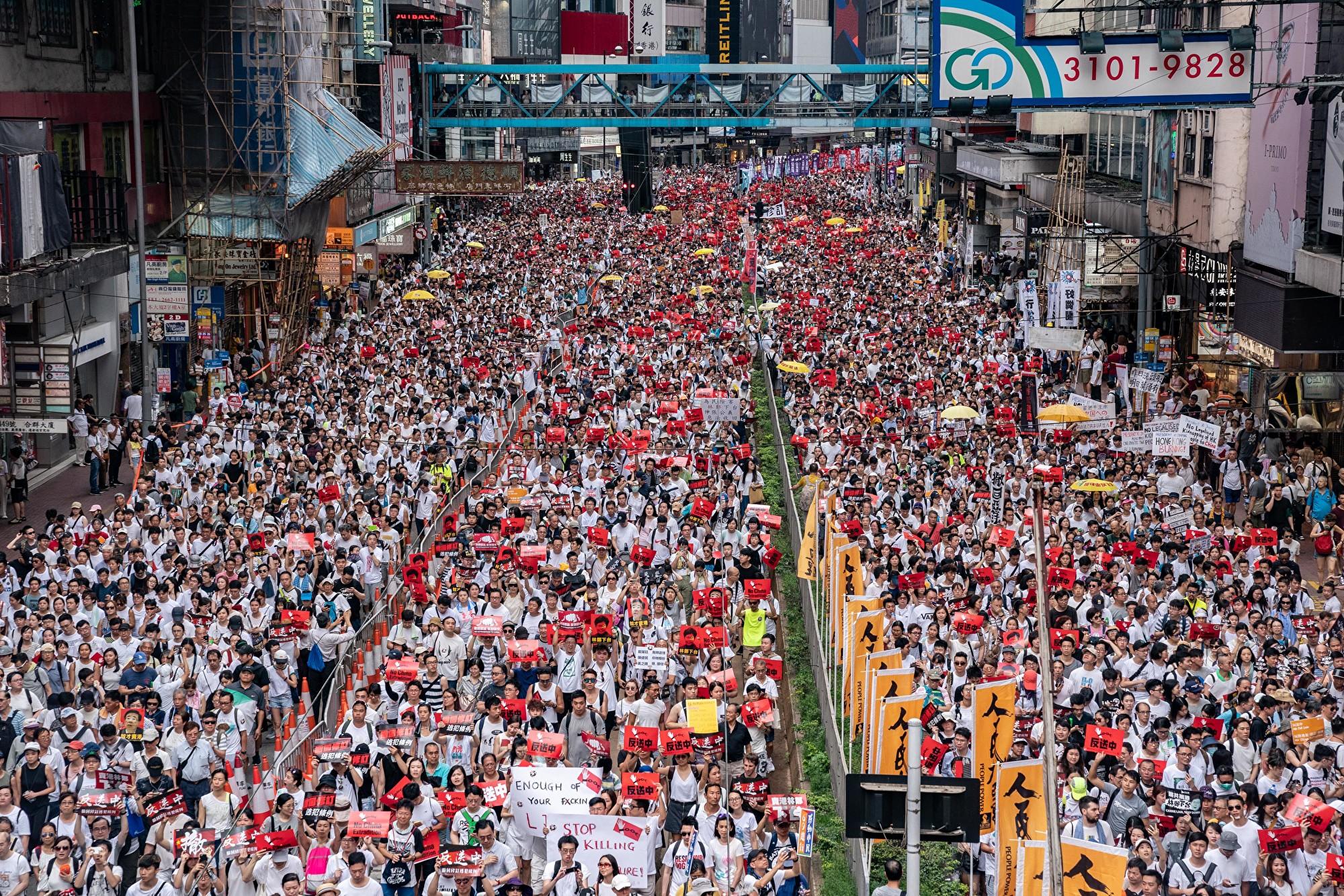 一文看懂 為何引渡條例引發全球抗議和譴責