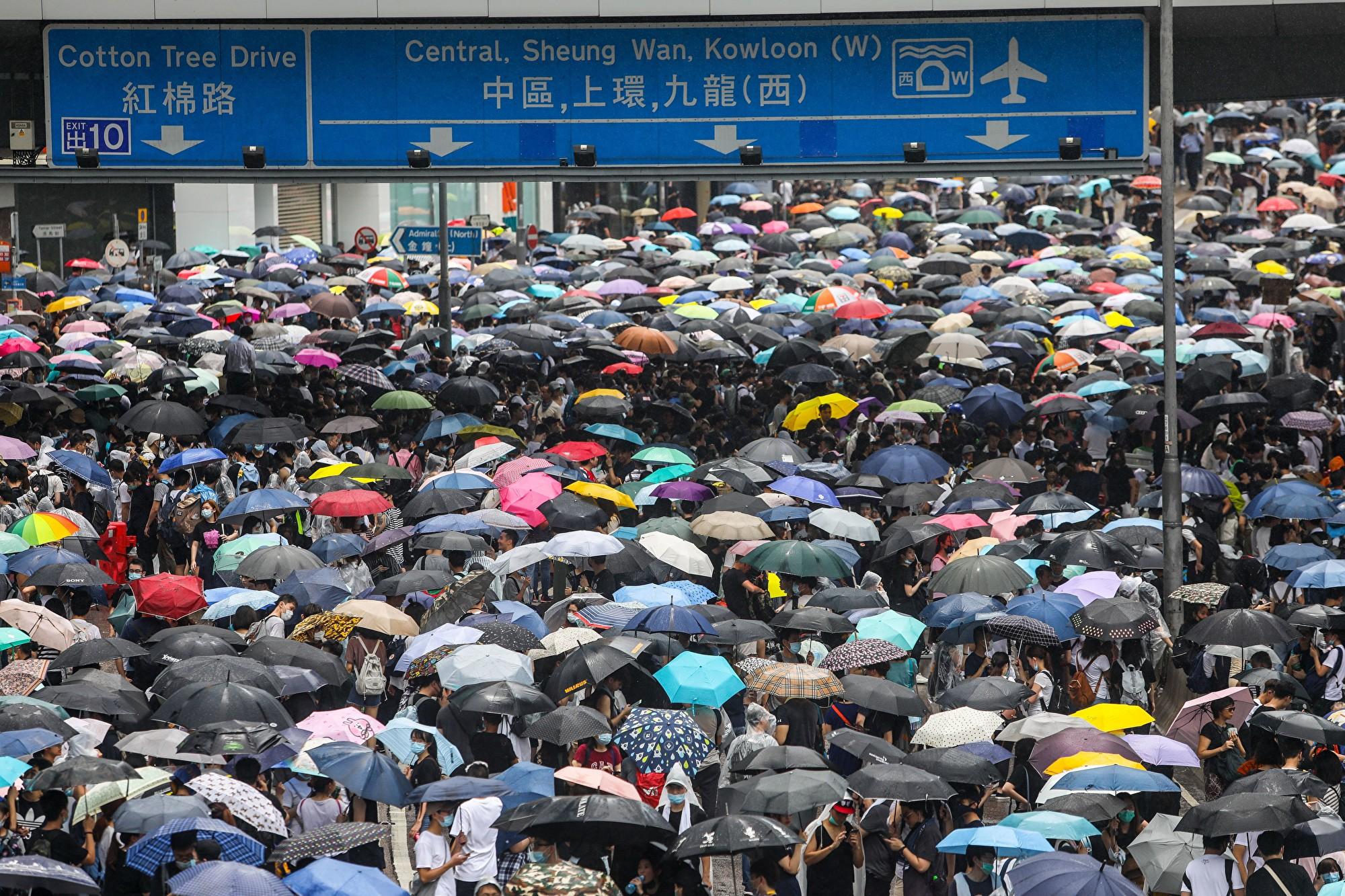 港民抗議與中美貿易戰 訴求目標不謀而合