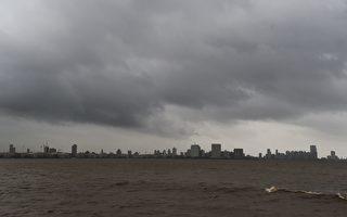 20年来最强热带气旋抵印度 30万人撤离