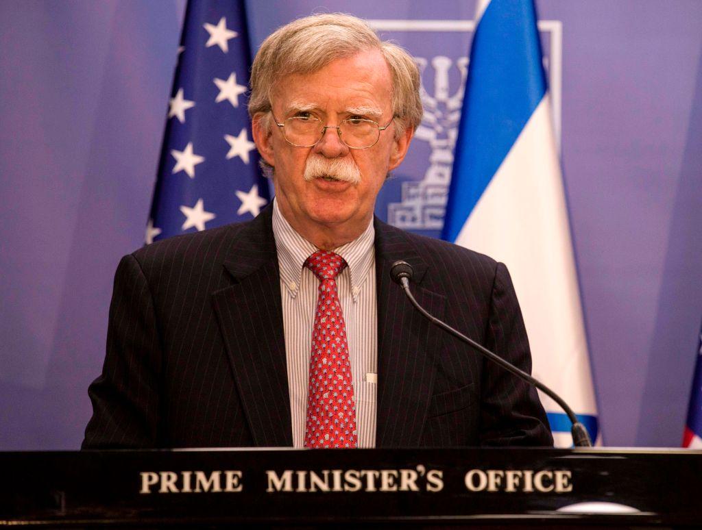 博爾頓:伊朗不要把美國的謹慎當軟弱