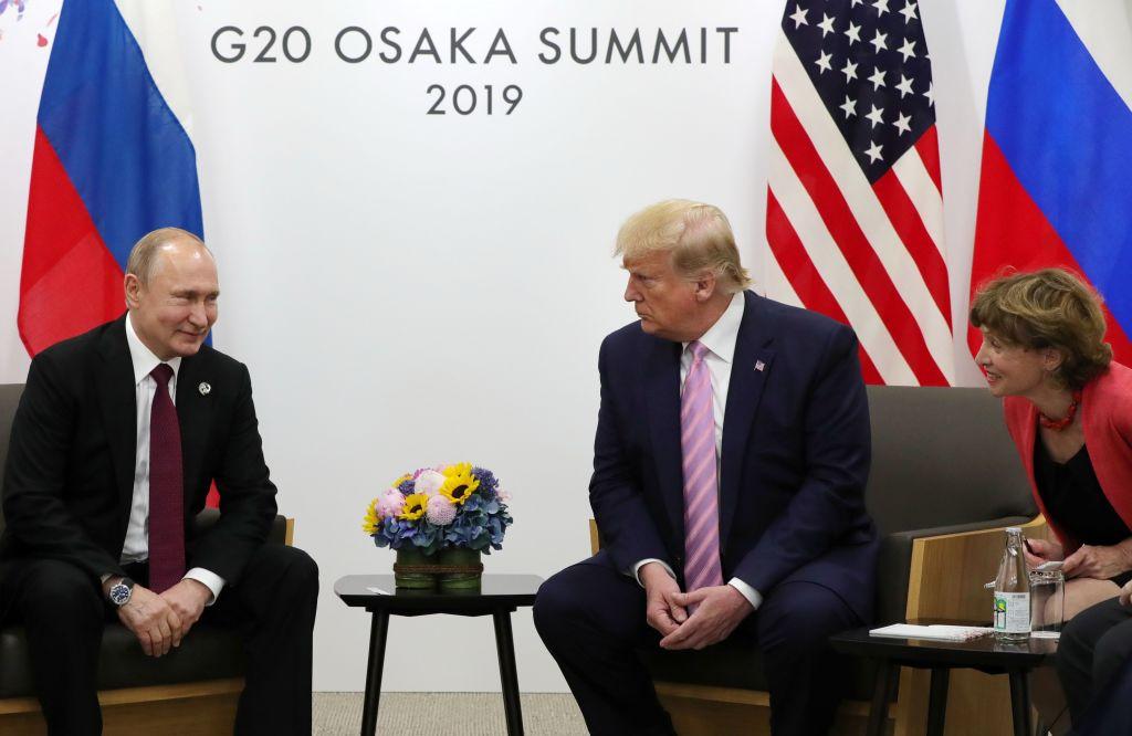 G20特朗普會普京 特朗普笑稱:不要干涉大選