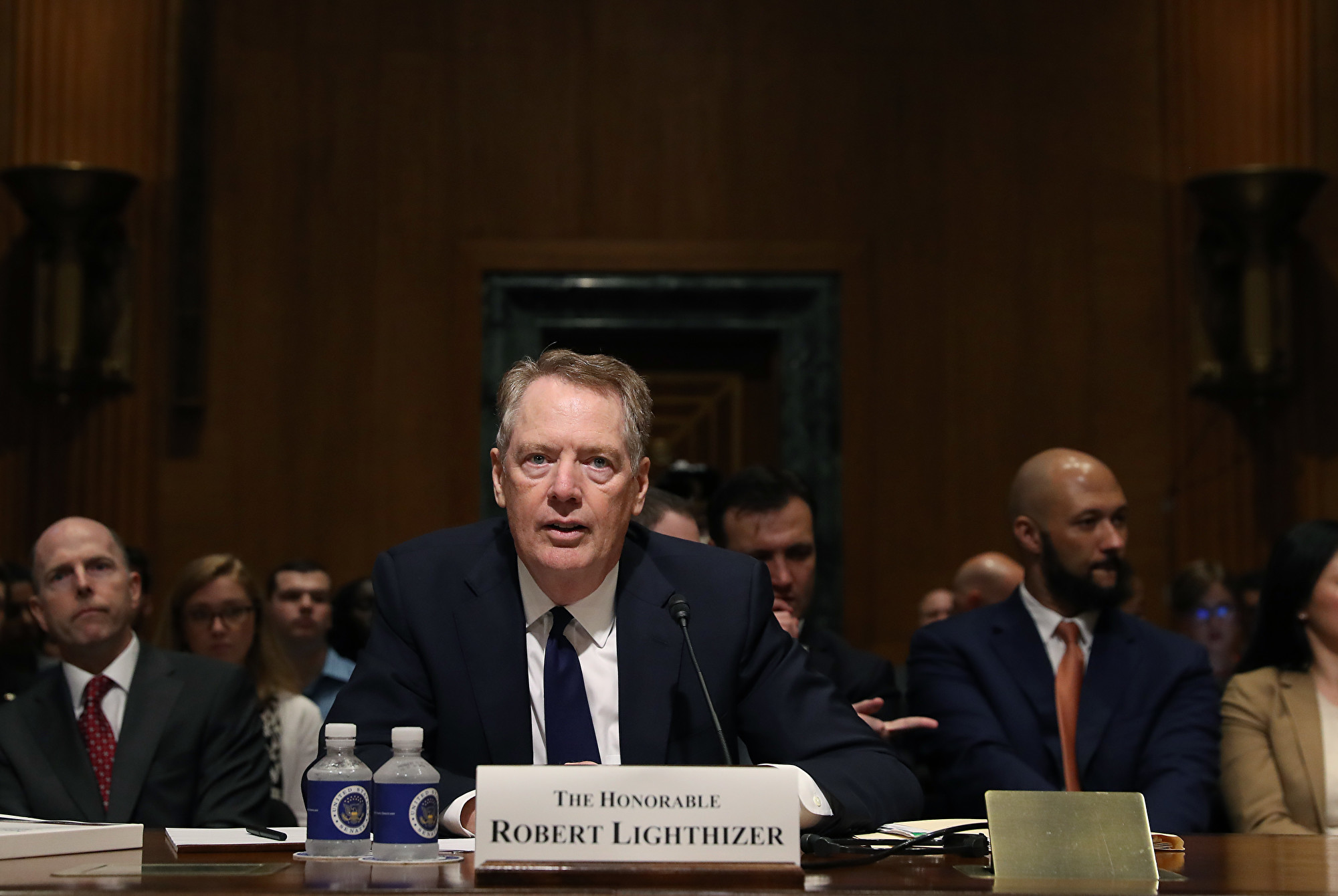 美國貿易代表羅伯特‧萊特希澤(Robert Lighthizer)。(Mark Wilson/Getty Images)