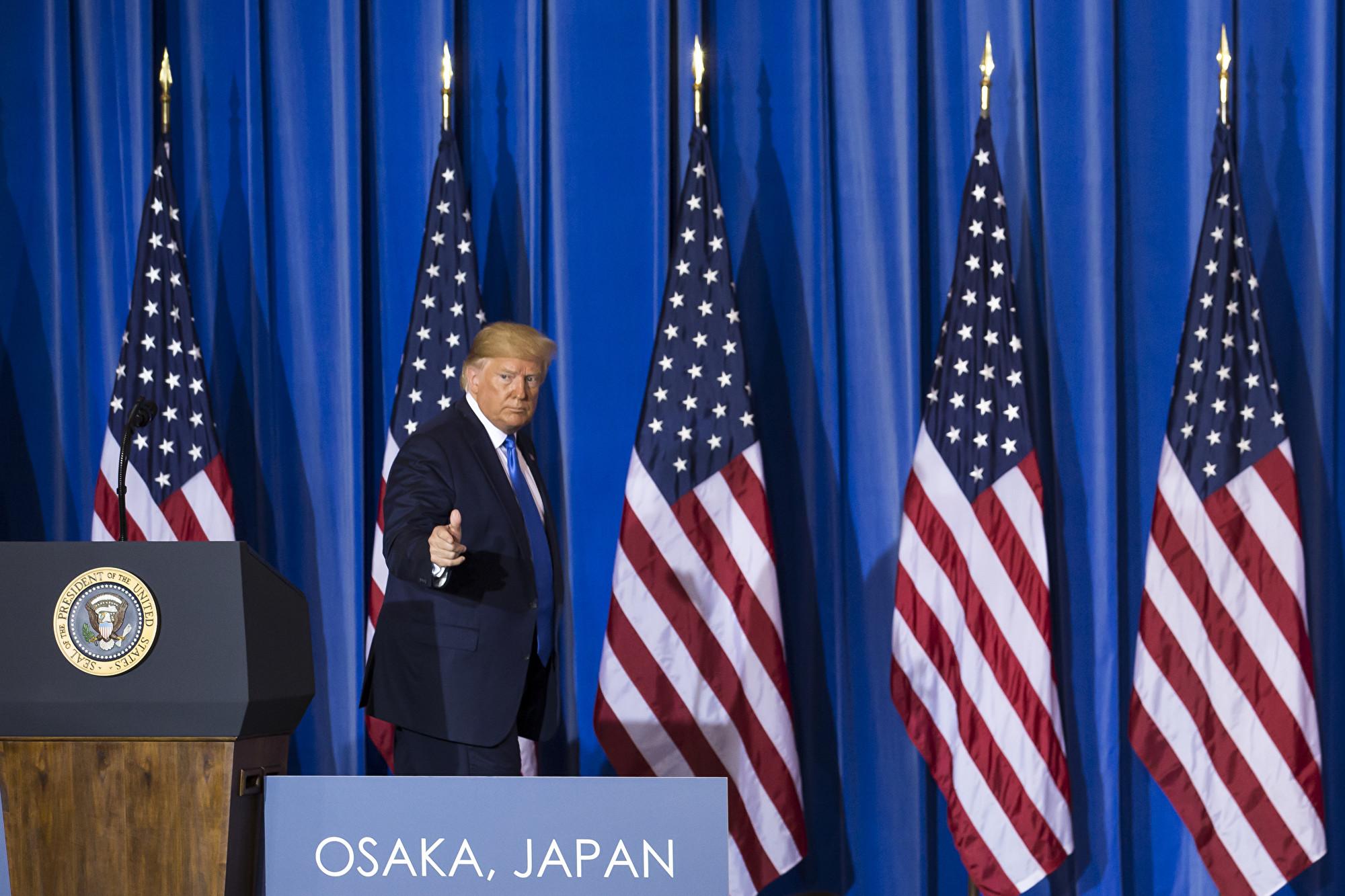 習特會後 特朗普談貿易戰和習近平