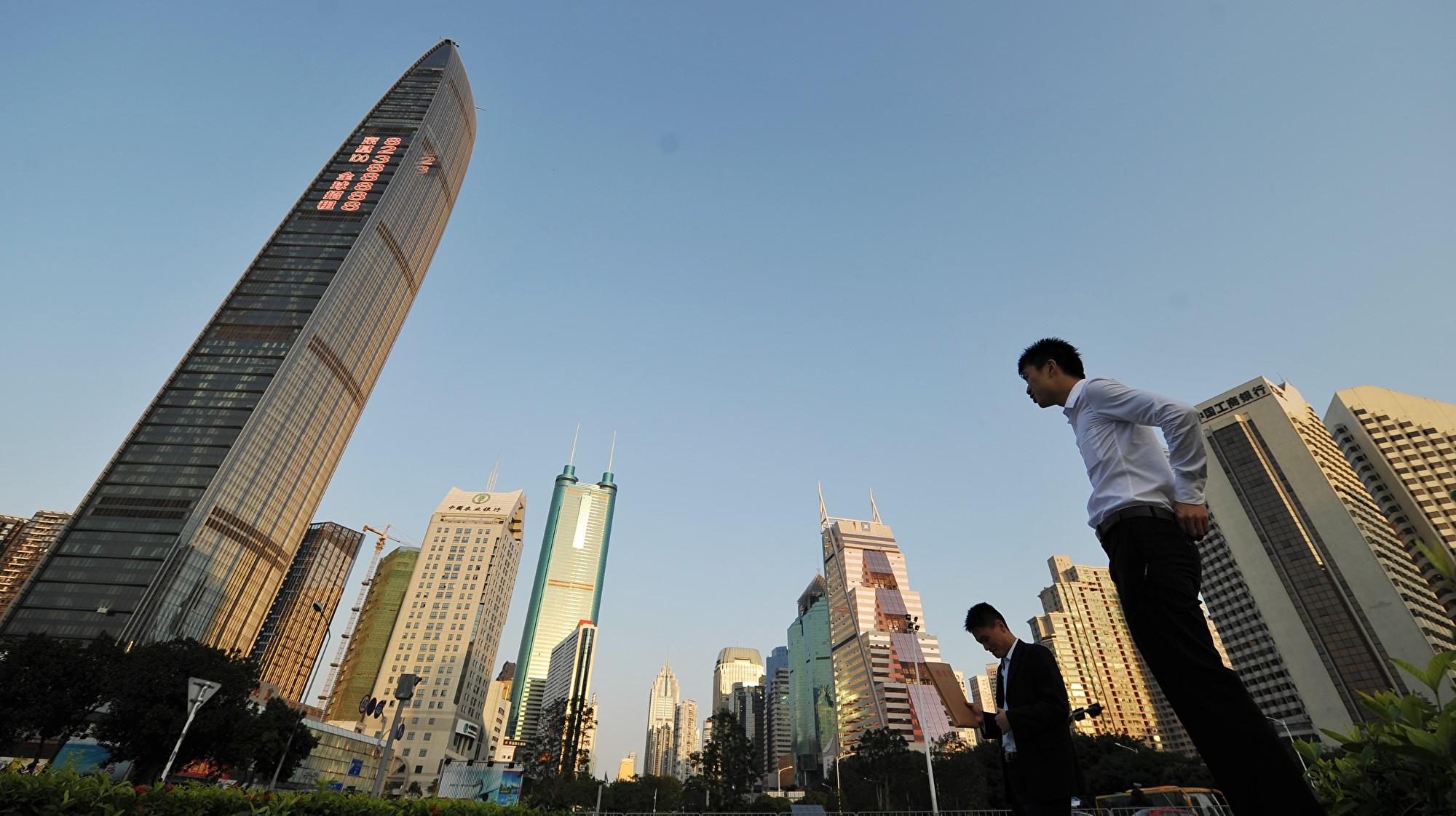 企業不斷撤離 深圳甲級寫字樓空置率逾23%