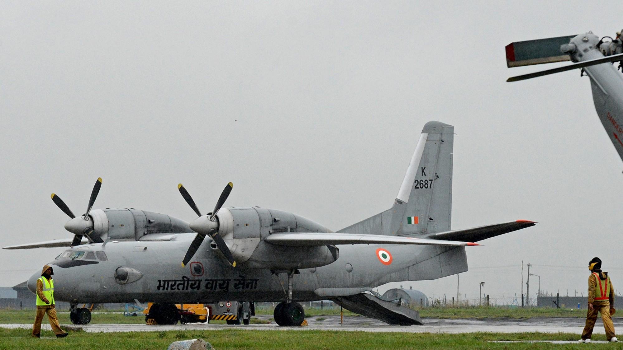 印度軍用飛機神秘消失 13人下落不明