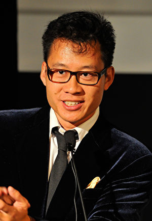 SAN FRANCISCO, CA - SEPTEMBER 30: Justin Kan hosts the IVY Innovator Technology Awards, presented by Cadillac at Pier 15 on September 30, 2015 in San Francisco, California. (Photo by Steve Jennings/Getty Images for IVY)