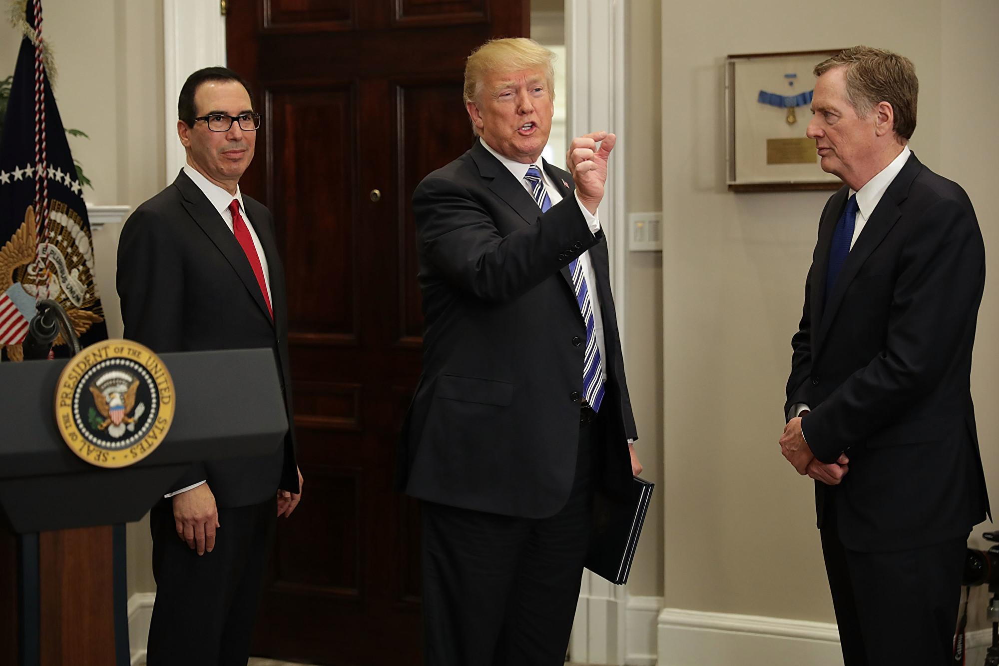 姆欽:習特會若無果 特朗普將樂意繼續加稅