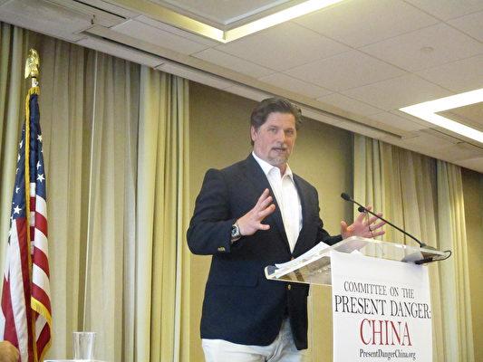 能源投資公司Energy Investment Partners的首席執行官惠特尼(Andrew Whitney)(李辰/大紀元)