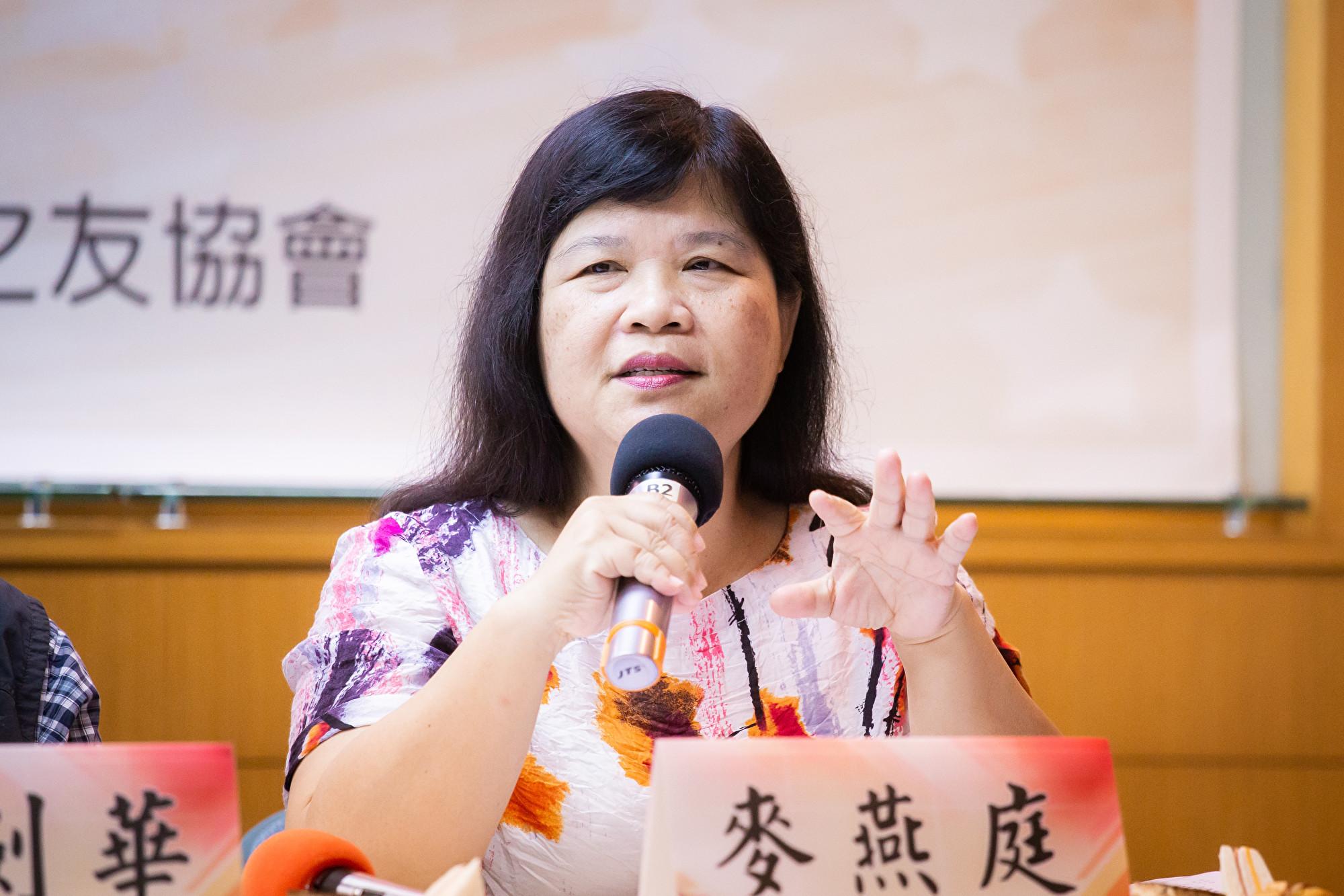 送中惡法 港記協前主席麥燕庭:摧毀香港